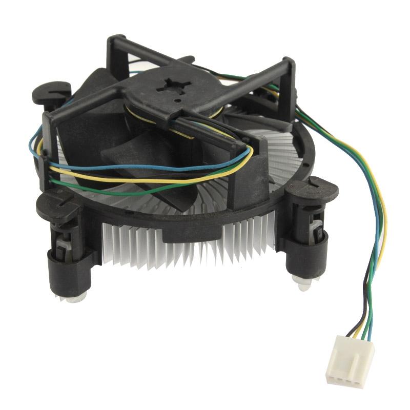 775 CPU Short Sleeve Bearing Cooling Fan  4-pin