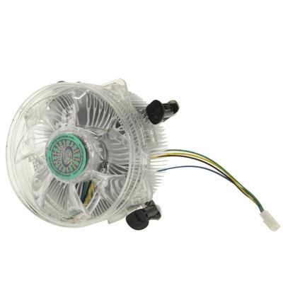 CPU aluminium Cooling Fan voor Intel Core 2 & Intel LGA775 4-pins