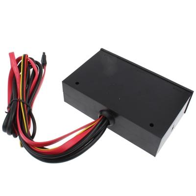 5 25-inch Media PC Dashboard Card Reader 2 x USB 3.0 + 6 x USB 2.0  SATA