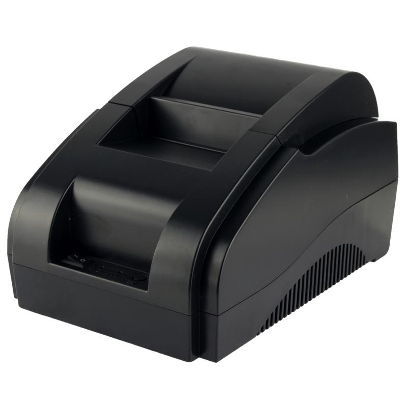 58mm Thermische POS Kassa Printer (XP-58IIH) (zwart)