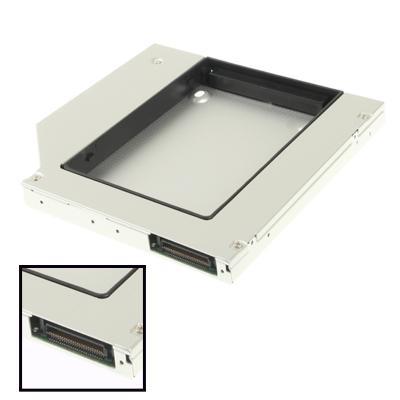2 5-inch tweede algemene IDE naar SATA HDD harde schijf Caddy  dikte: 12.7mm(Silver)