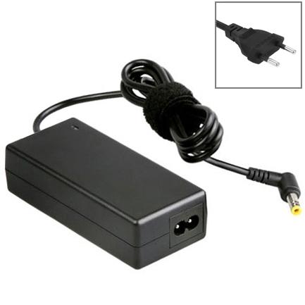 EU stekker AC Adapter 19V 4.74A 90W voor Asus Notebook  Output Tips: 5.5x2.5mm(zwart)
