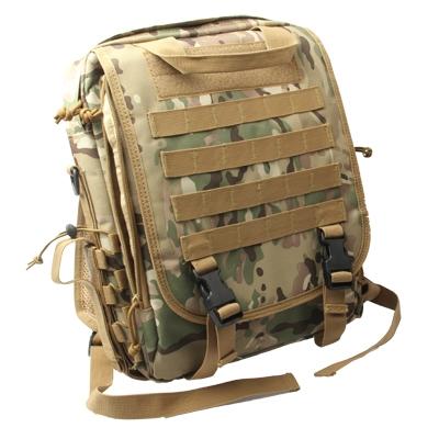 14 inch Camouflage stijl draagbare dubbele gelaagde Leisure Laptop Notebook Bag met schouderband