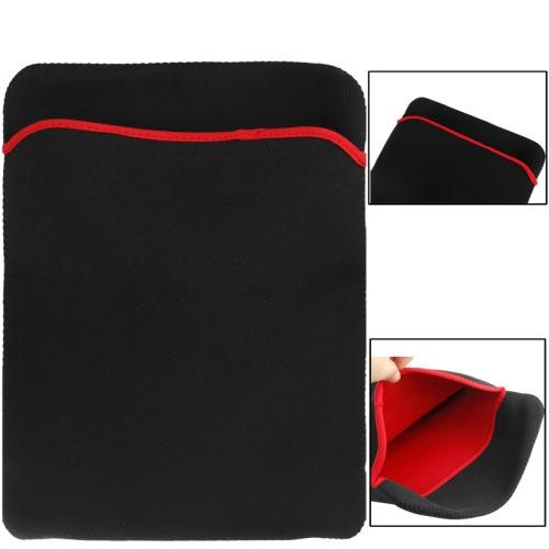 Zachte hoes hoesje-tas voor 15 inch Laptop(zwart)