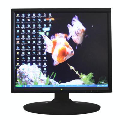 LCD Monitor 17 inch 4:3 met D-SUB/VGA aansluiting  Maximale resolutie: 1280 x 1040