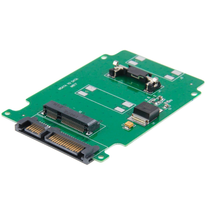 mSATA mini PCI-E SSD harde schijf naar 2.5 inch SATA Converter Kaart