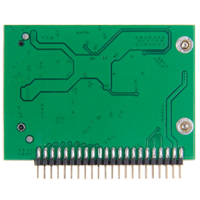 mSATA Mini PCI-E SSD vrouwtje naar 3.3V 2.5 inch 44 Pin IDE mannetje Converter kaart