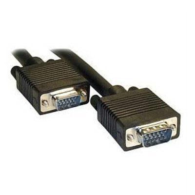 Voor CRT Monitor  standaard VGA 15Pin mannetje naar VGA 15Pin mannetje Kabel   Lengte: 10 meter (zwart)