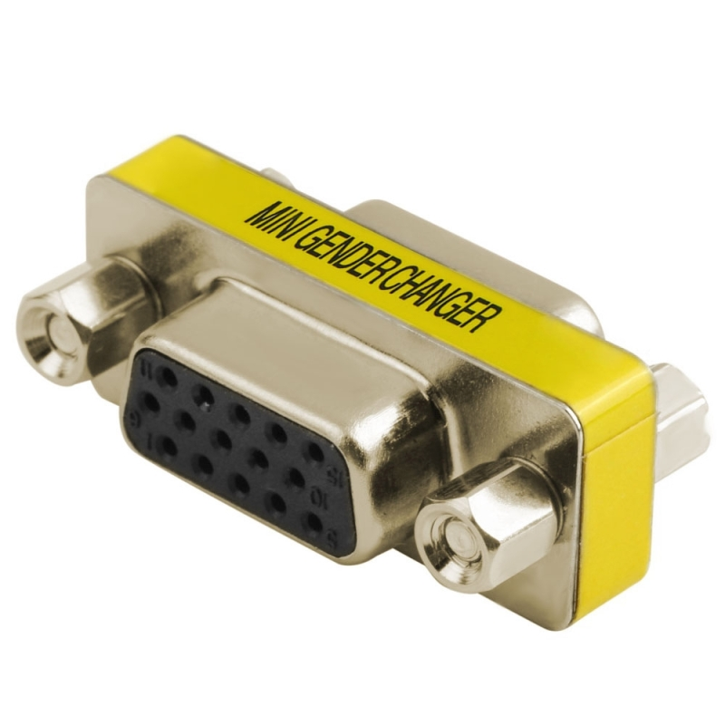VGA 15Pin vrouwtje naar VGA 15Pin vrouwtje adapter