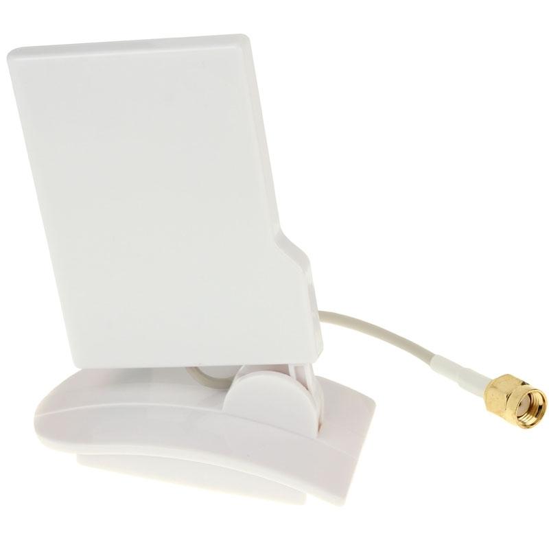 Compacte 2.4 GHz 9dBi Yagi RP-SMA WiFi Richting antenne wit