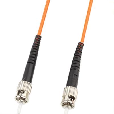 ST-ST Single-Core Multi Mode Fiber Optic Jumper  Lengte: 3m