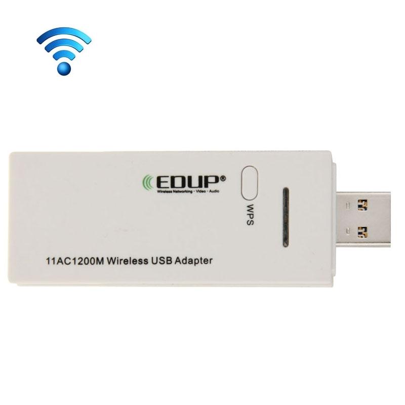 EDUP AC-1601 draadloos 802.11AC 1200M Dual Band USB 3.0 WiFi Adapter
