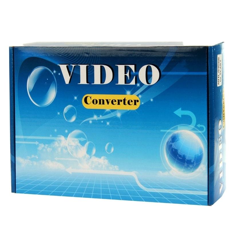 HDV-338 HDMI naar YPbPr Scaler Adapter Converter Box(zwart)