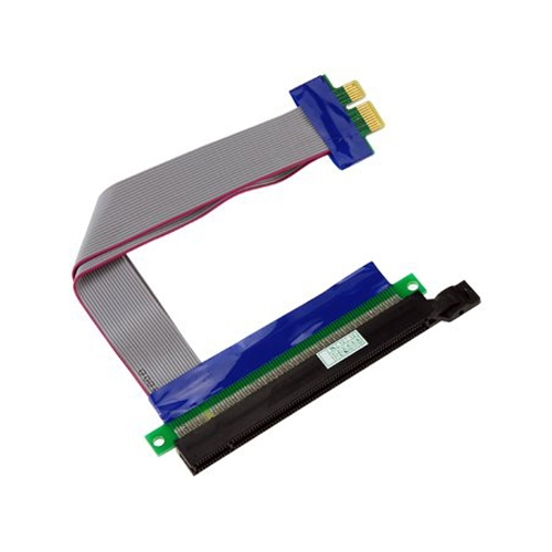 PCI-E Express 16 X 1 X Riser Card Adapter Flex Extension Kabel