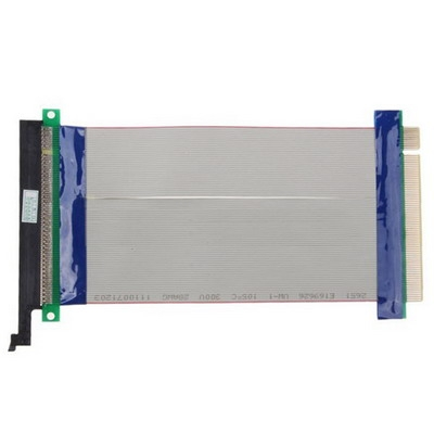 PCI-Express 16 X Riser Card Extender flexibele Extension Kabel lint-Adapter  Kabel Lengte: 15cm
