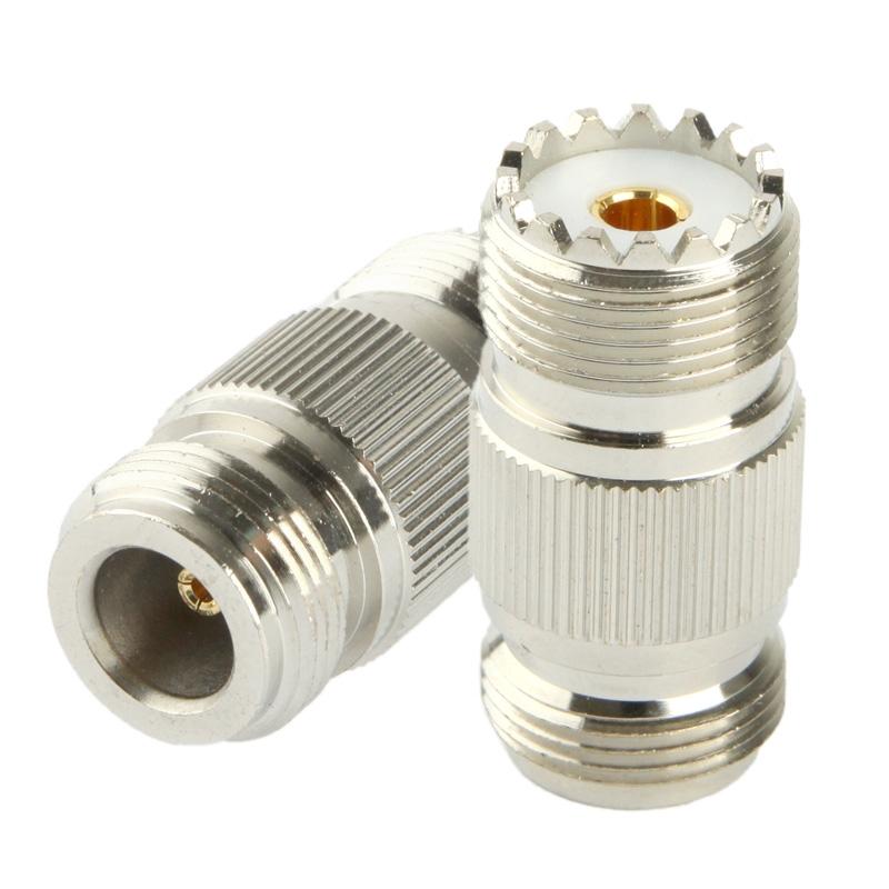 Coaxiaal RF N vrouwtje naar UHF vrouwtje Adapter
