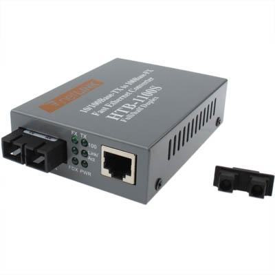 Enkelvoudige modus Fast Ethernet glasvezel Transceiver