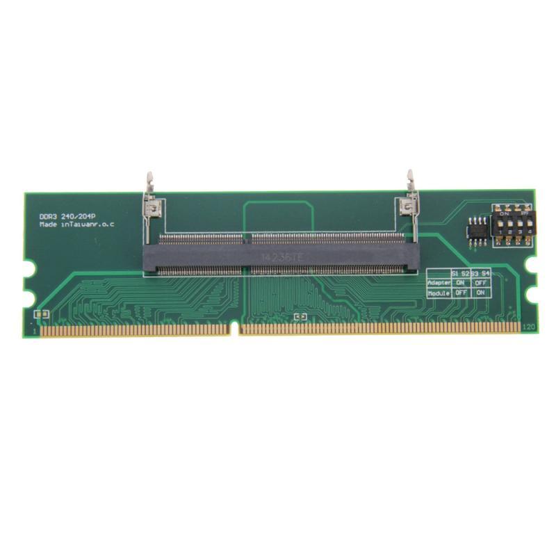DDR3 Laptop Desktopgeheugen RAM adapterkaart Converter