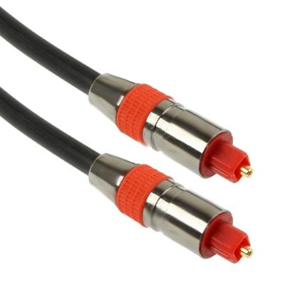 Digitaal Audio Optisch Fiber Toslink Kabel  Kabel Lengte: 3 meter  OD: 6.0mm