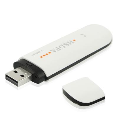 7.2Mbps HSDPA 3G USB 2.0 draadloos Modem met TF kaart slot wit