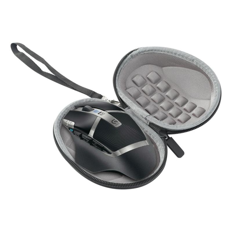 Geschikt voor Logitech MX Master 3/G602/G700s opbergtasje draagbare drukbestendige tas met Logitech Wireless Mouse box