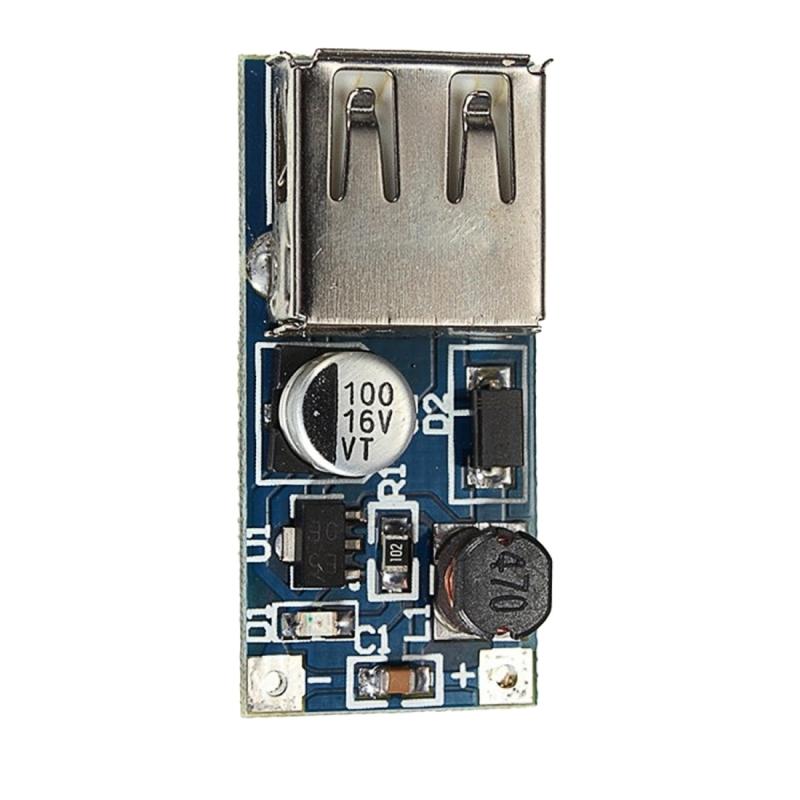 LDTR-WG0242 PFM Control DC-DC 0.9 V-5V naar USB 5V Boost Step up voeding module (zwart)